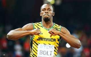 Самый быстрый человек в мире — Усейн Болт