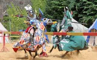 Рыцарские турниры в средневековье кратко. Ристалище, судьи и награды. Как проходили рыцарские турниры