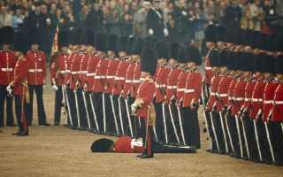 Британская королевская гвардия. Гвардейцы в лондоне