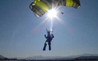 Парашютный спорт – как заняться парашютным спортом? Как подготовиться к первому прыжку с парашютом. Советы экспертов