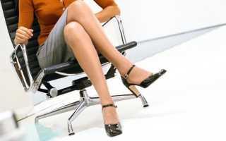 Можно ли сидеть беременным нога на ногу. Можно ли беременным сидеть «нога за ногу
