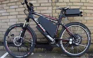 Электровелосипед своими руками из стартера. Как сделать электровелосипед из обычного велосипеда
