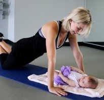 Физкультура после родов когда начать. Комплекс физических упражнений после родов, чтобы вернуть былые формы! Какие упражнения для женщин после родов необходимо выполнять в более позднем послеродовом периоде