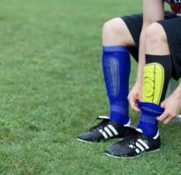 Как одевать хоккейные щитки. О футбольных щитках. Как защитить Ваши ноги от травм? Как выбрать футбольные щитки по уровню защиты