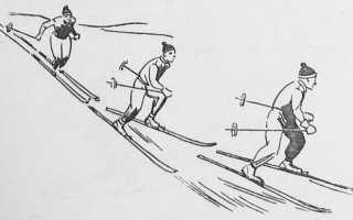 Как правильно спускаться с горы на лыжах. Как правильно поворачивать на беговых лыжах
