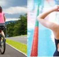 Плавание или велосипед? Тренировка перехода «плавание — велосипед