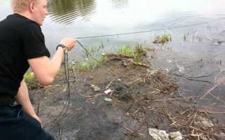 Как поставить сеть дорожку на резинке. Рыболовные дорожки
