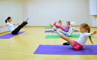 Как укрепить мышцы живота ребенка. Как укрепить пресс у ребенка: упражнения