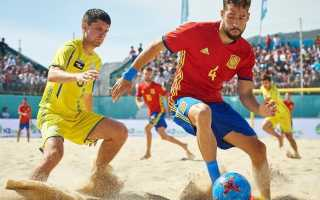 Пляжный футбол сколько человек в команде. Пляжный футбол — правила игры и мировой рейтинг
