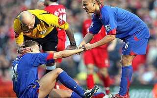 Жестокие игры. Самые тяжелые травмы в истории футбола. Самые ужасные травмы футболистов
