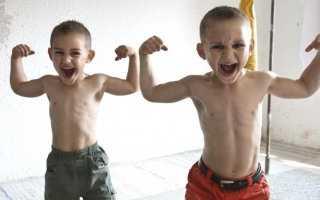 Силовые упражнения для дошкольников. Силовые тренировки для детей