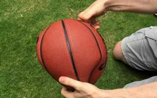 Как надуть резиновый мячик. Как накачать футбольный мяч
