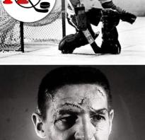 Вратарь в хоккее без шлема. Вратарь в хоккее, который играл без шлема и маски