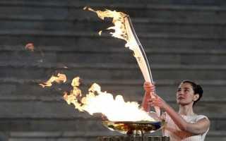Олимпийские огонь. История возникновения олимпийского огня