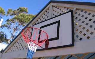 Как сделать баскетбольное кольцо своими руками чертежи. Баскетбольный щит с регулировкой по высоте своими руками (20 фото)