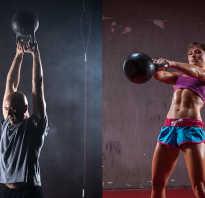 Упражнения с гирей на плечи, грудь и руки – базовый курс. Как накачать грудные мышцы при помощи гири