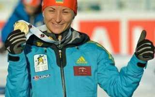 Вита Семеренко: c сестрой никогда не соперничаем. Украинская биатлонистка Вита Семеренко: биография, спортивная карьера и личная жизнь