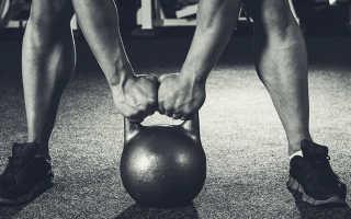 Тренировка с одной гирей в домашних условиях. Упражнения с гирей на трицепс. Поочередная тяга в наклоне