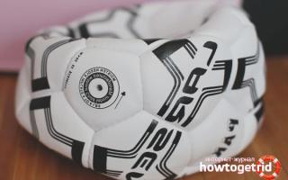Насос для мячей с иглой как пользоваться. Как накачать мяч без иглы в кустарных условиях